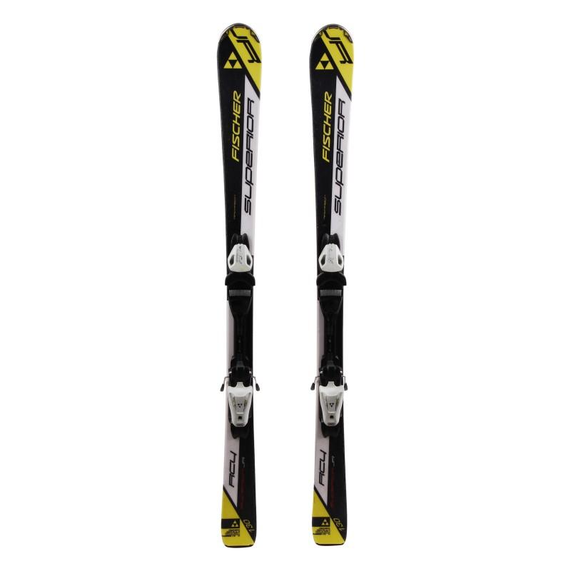 Junior Fischer Junior RC4 black white ski + bindings