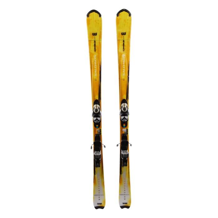 Gebrauchte Salomon Scrambler Ski + Befestigungen