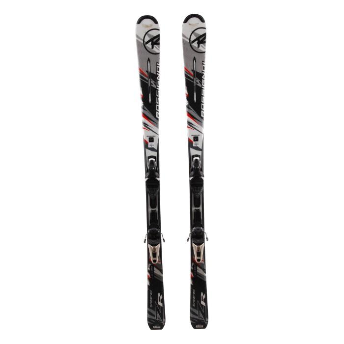 Gebrauchte Ski Rossignol ZR + Befestigungen