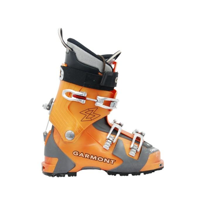 Skitourenschuh gebraucht Garmont Daemon orange