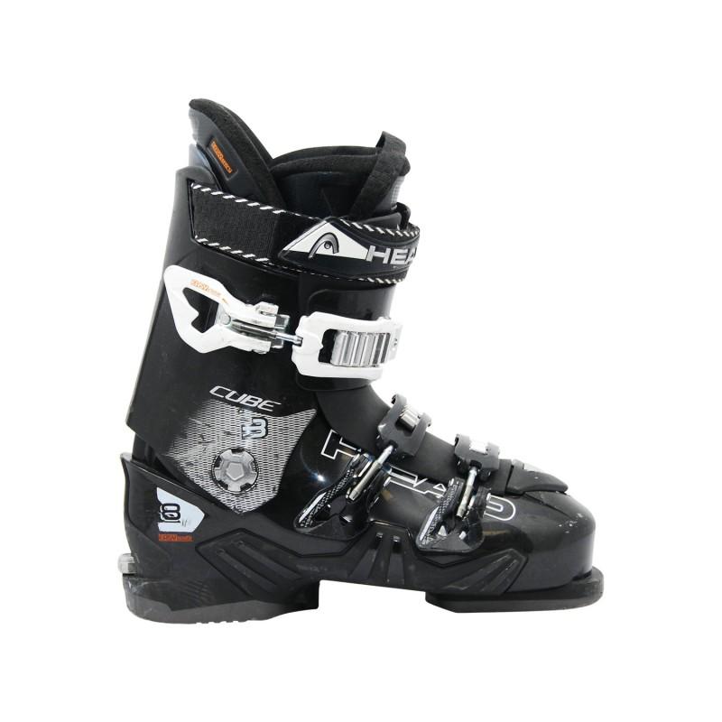 Chaussure de Ski Occasion Head cube 3 8 noir blanc - Qualité A