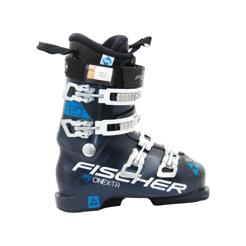 Chaussure de Ski occasion Fischer RC pro xtr 80 w bleu - Qualité A