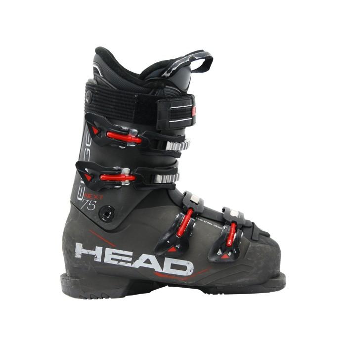 Skischuh gebraucht Head next edge 75 schwarz rot