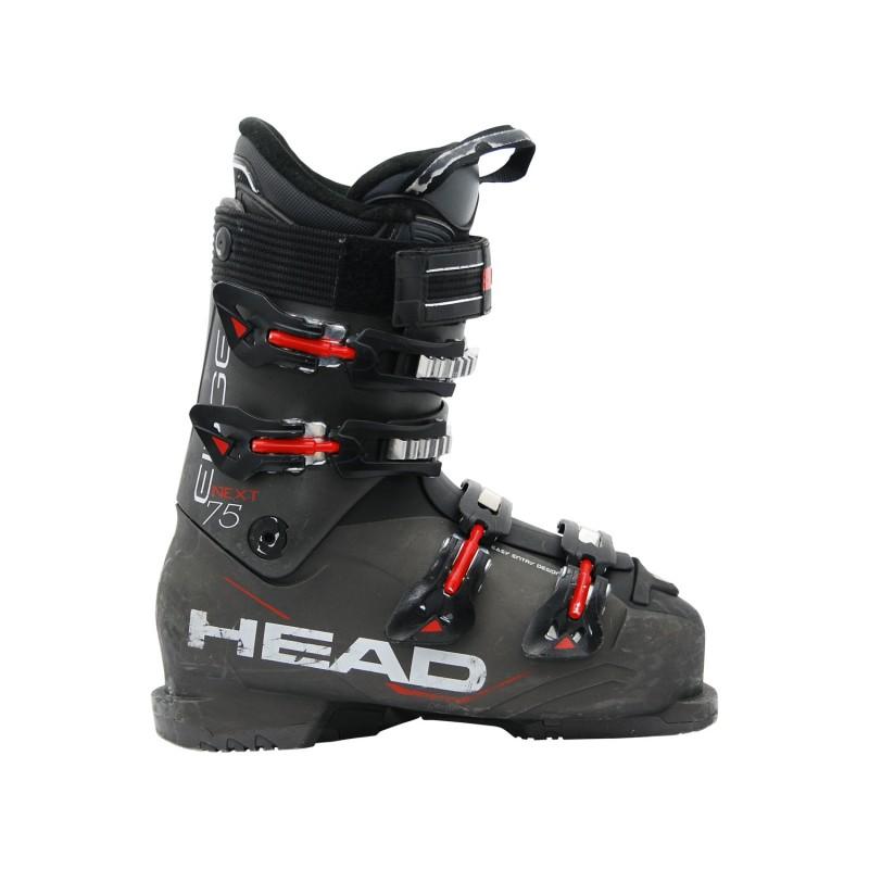 Chaussure de ski occasion Head next edge 75 noir rouge - Qualité A