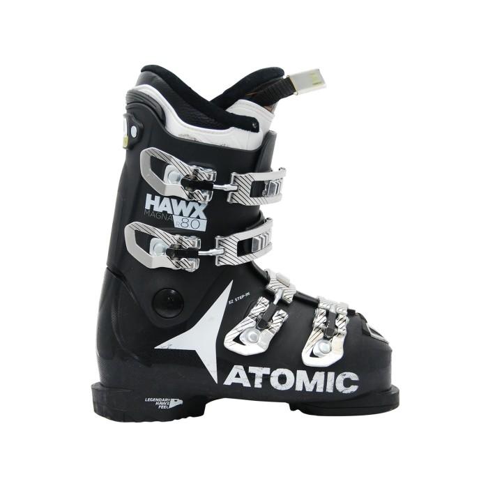 Gebrauchte Skischuhe Atomic hawx magna R 80 schwarz