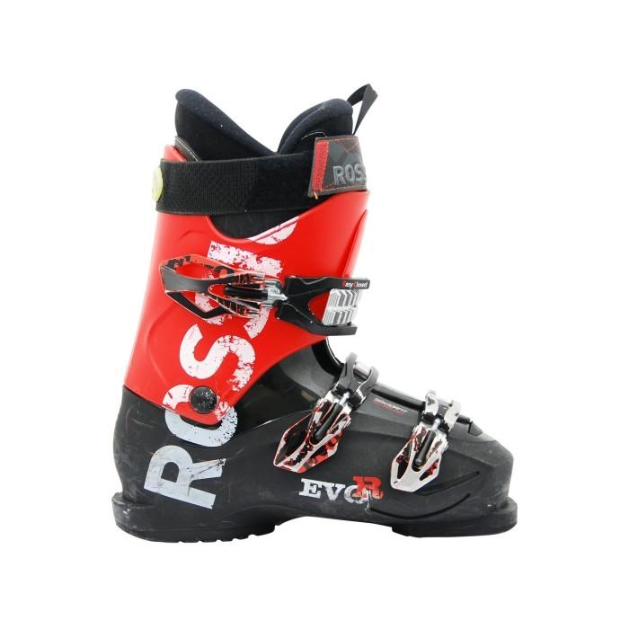Chaussure de ski occasion Rossignol Evo R noir rouge