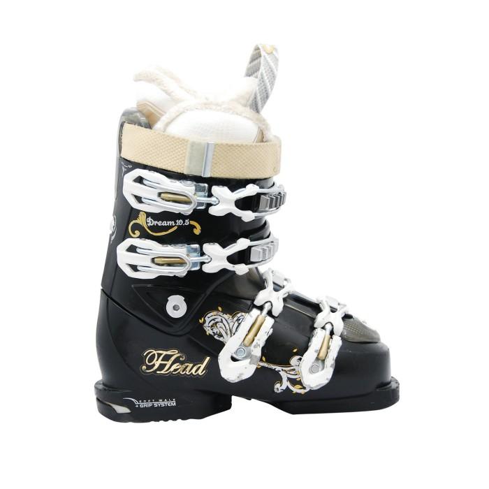 Zapato de esquí Black usado Head Dream