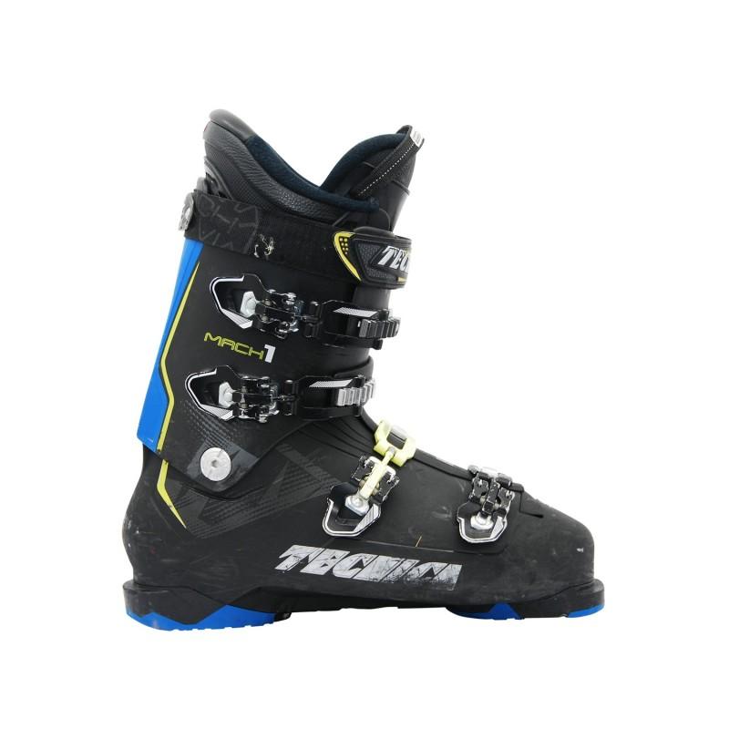 Chaussure de ski occasion Tecnica Mach 1 100XR noir bleu - Qualité A