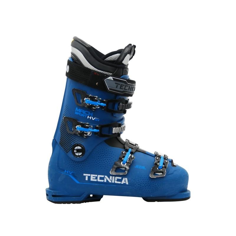 Chaussure de ski occasion Tecnica Mach sport HV 80RT bleu - Qualité A