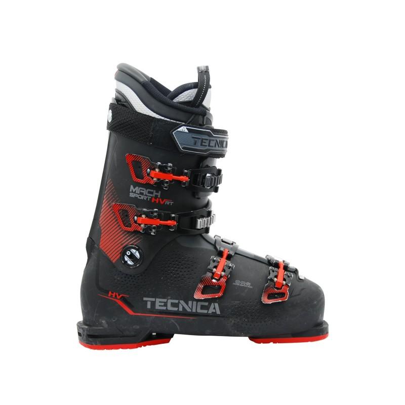 Chaussure de ski occasion Tecnica Mach sport HV RT noir rouge - Qualité A