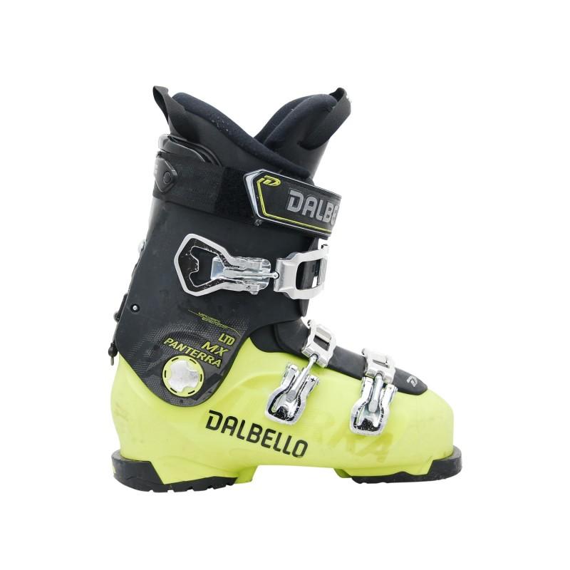 Chaussures de ski occasion Dalbello Panterra MX LTD vert et noir - Qualité A