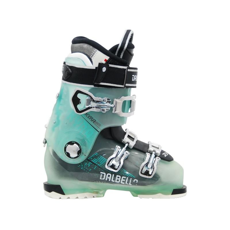 Chaussure de ski occasion Dalbello Kyra MX LTD bleu - Qualité A