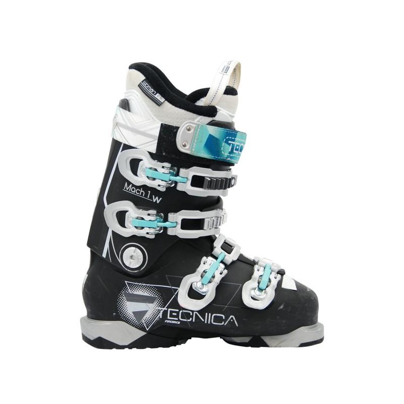 Chaussure de ski occasion Tecnica Mach 1 w noire - Qualité A