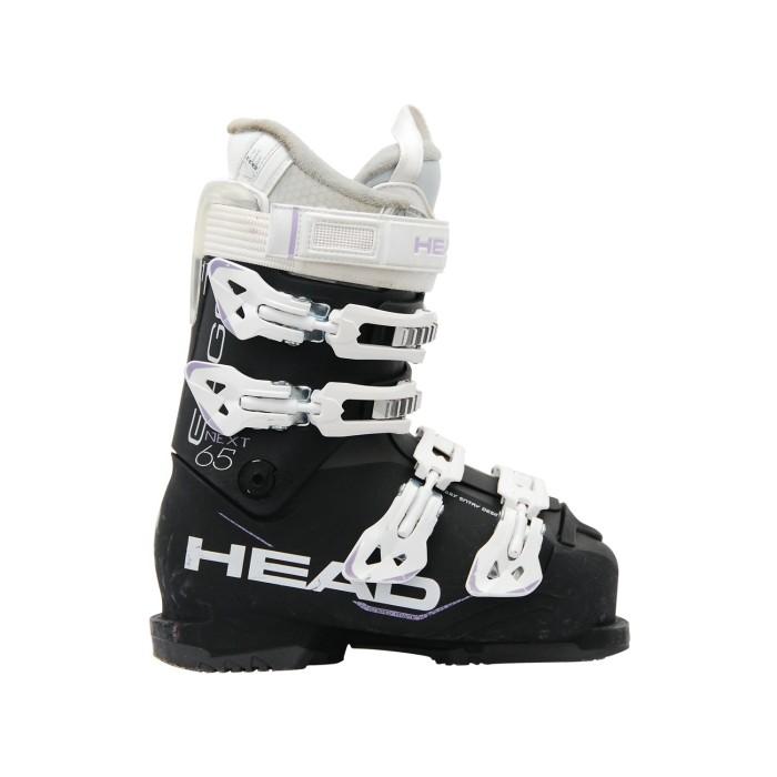 Skischuh gebraucht Head next edge 65 schwarz/weiß