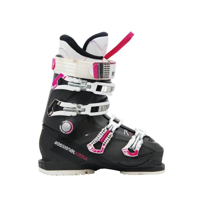 Chaussure de Ski Occasion Rossignol kiara 60 gris rose