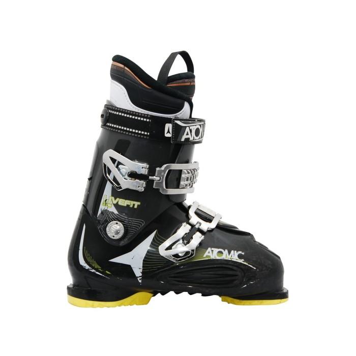 Chaussure de ski occasion Atomic live fit 80 noir jaune