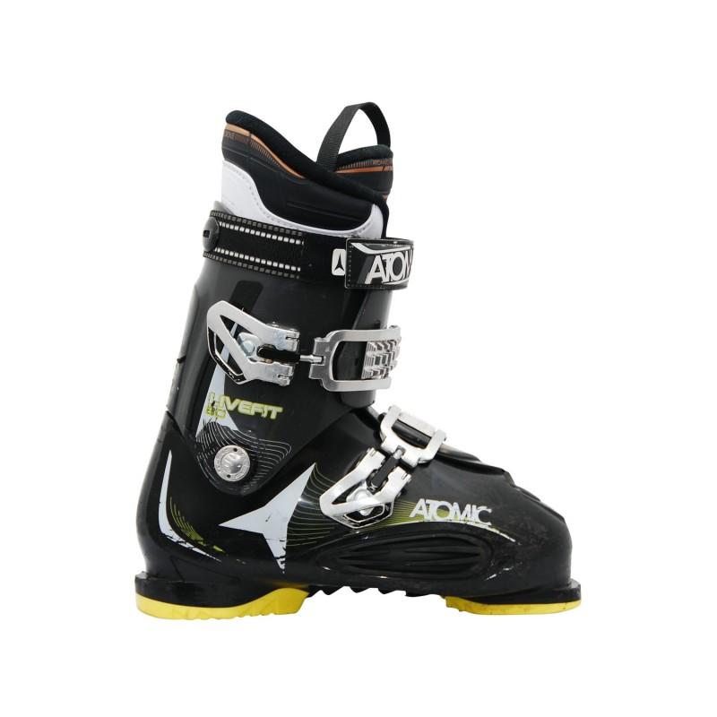 Chaussure de ski occasion Atomic live fit 80 noir jaune - Qualité A