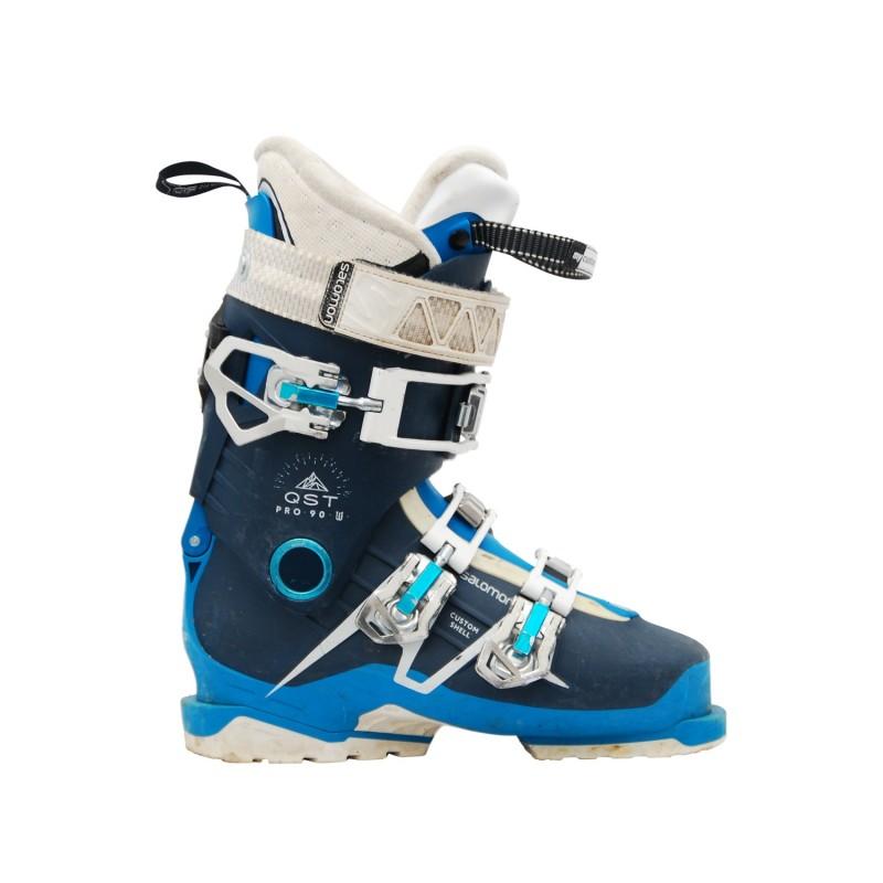 Chaussures de ski occasion Salomon QST pro 90 W - Qualité A