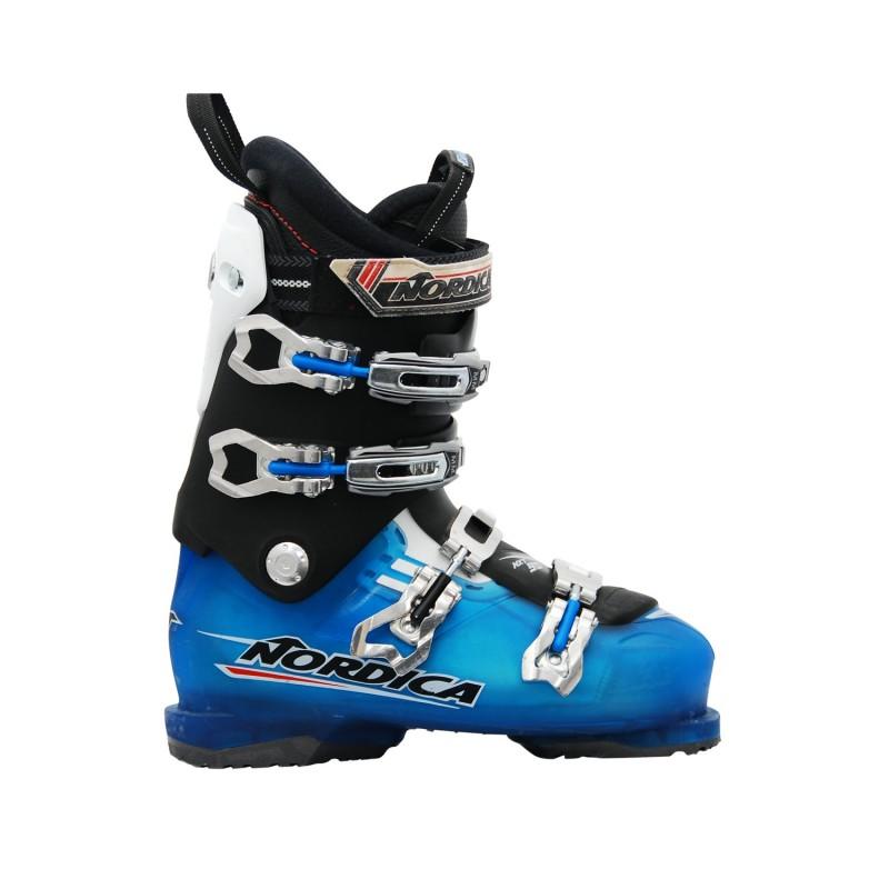 Chaussure ski occasion Nordica NXT 90R noir bleu - Qualité A