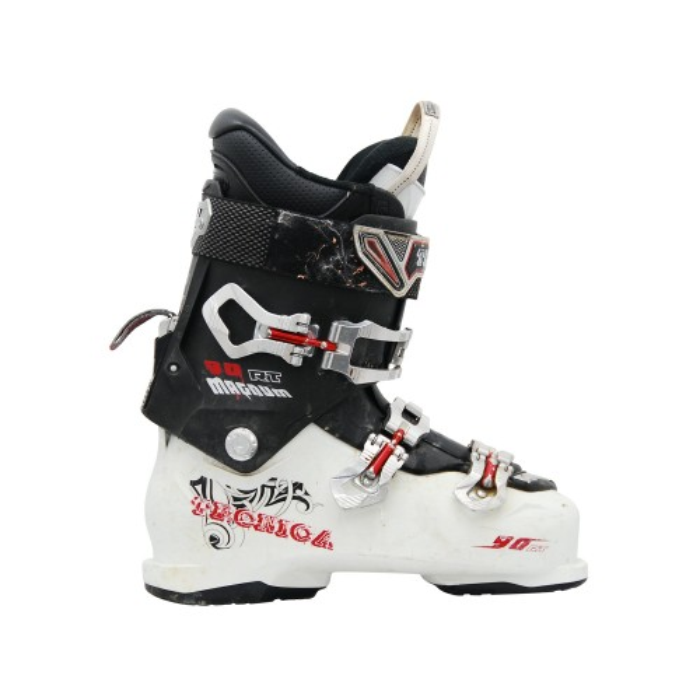 Gebrauchte Skischuh Tecnica Magnum 90 RT weiß/schwarz