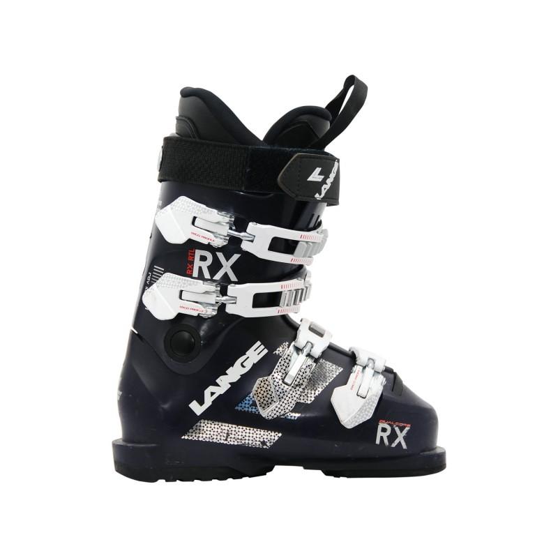 Chaussure de ski occasion Lange RX RTL bleu nuit - Qualité A