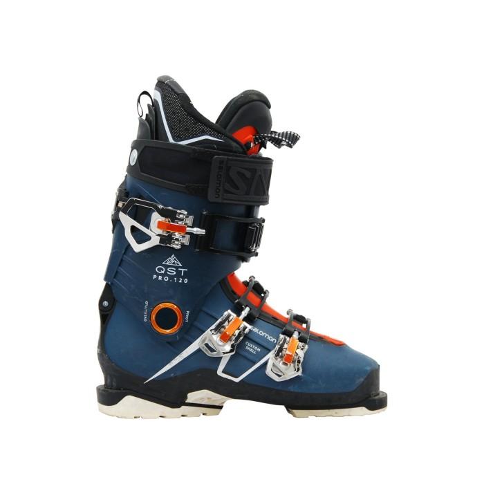 Chaussures de ski occasion Salomon QST pro 120 bleu