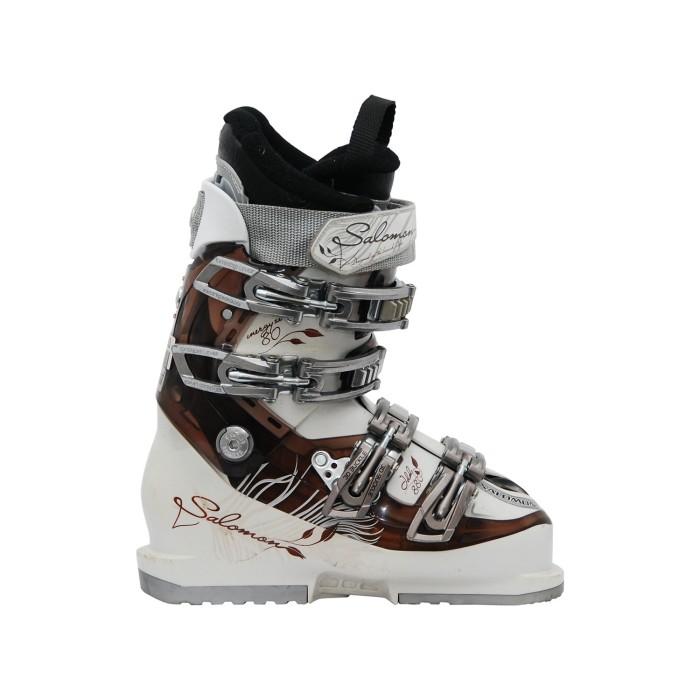 Salomon idol 880 white/brown ski boots