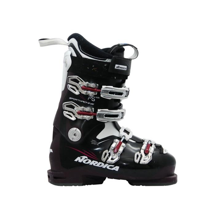 Schuh Ski gebraucht Nordica Sportmachine 75 wr violett