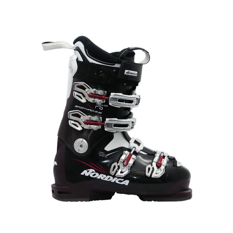 Chaussure ski occasion Nordica Sportmachine 75 wr violet - Qualité A