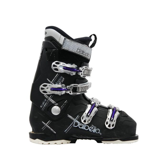 Dalbello usado bota de esquí chupa negro Lux