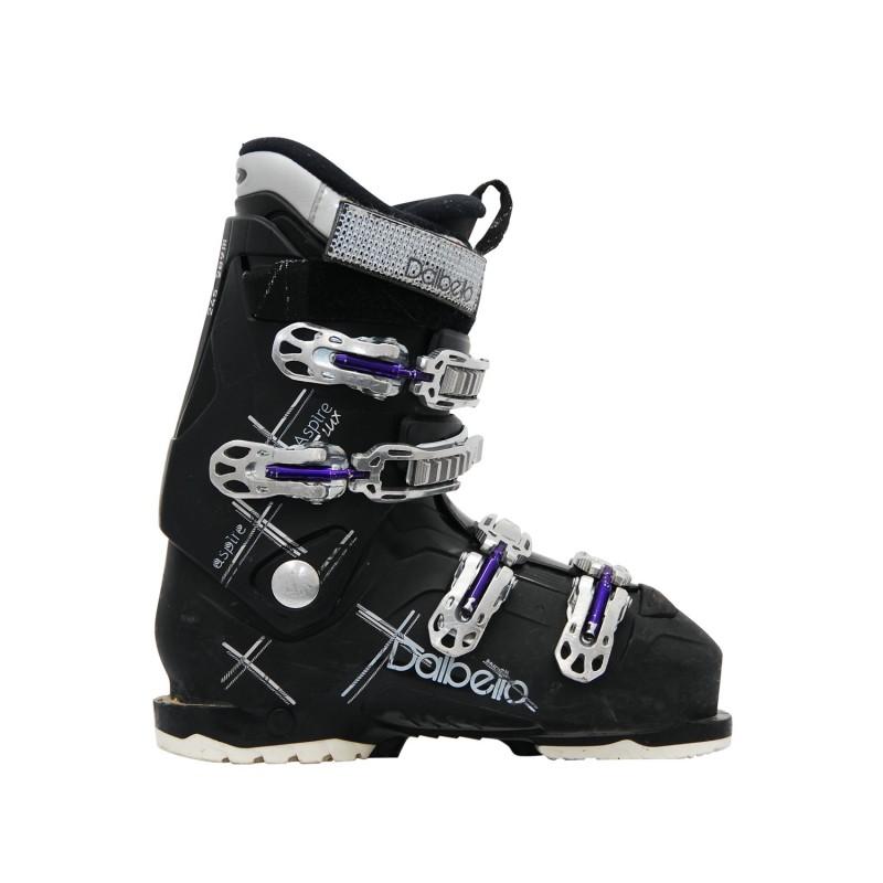 Chaussure de ski occasion Dalbello aspire Lux noir - Qualité A