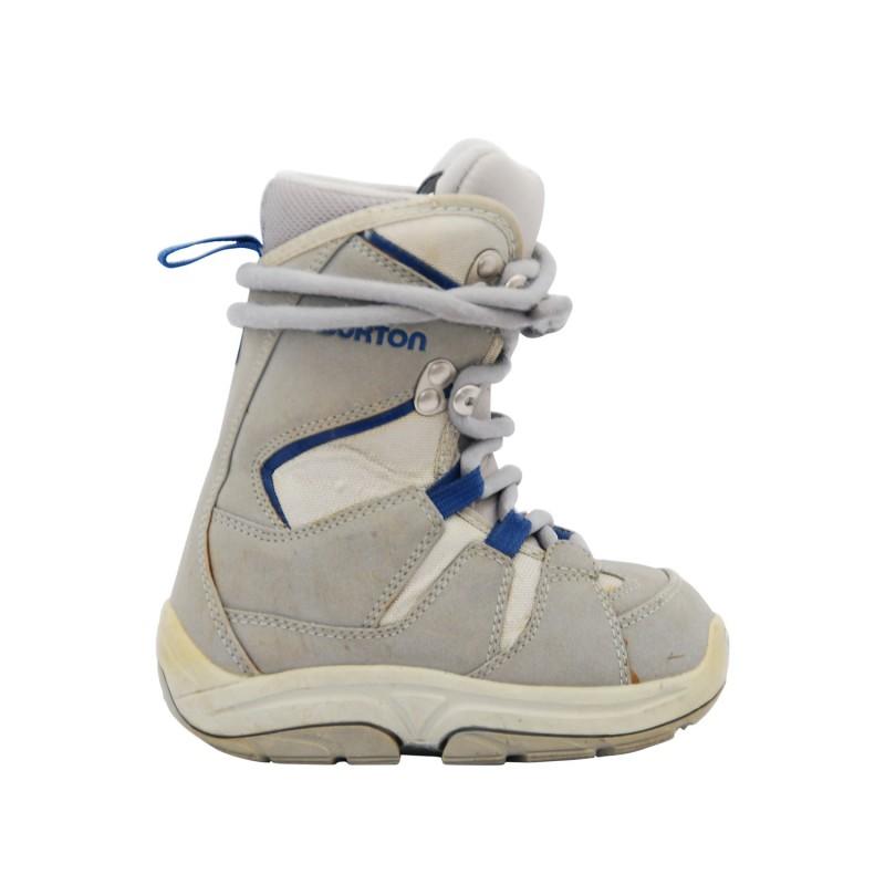 Boots occasion Junior Burton moto kid gris - Qualité A