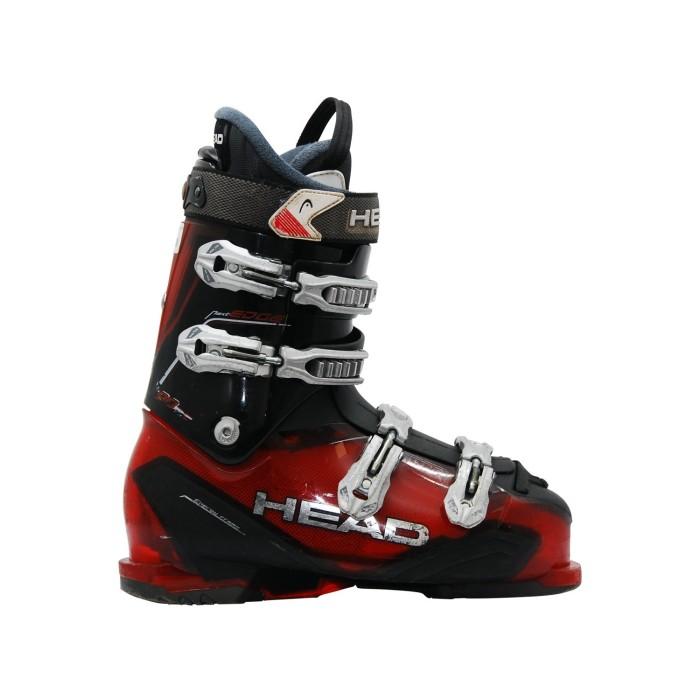 Borde de adaptación de cabeza 90 bota de esquí rojo