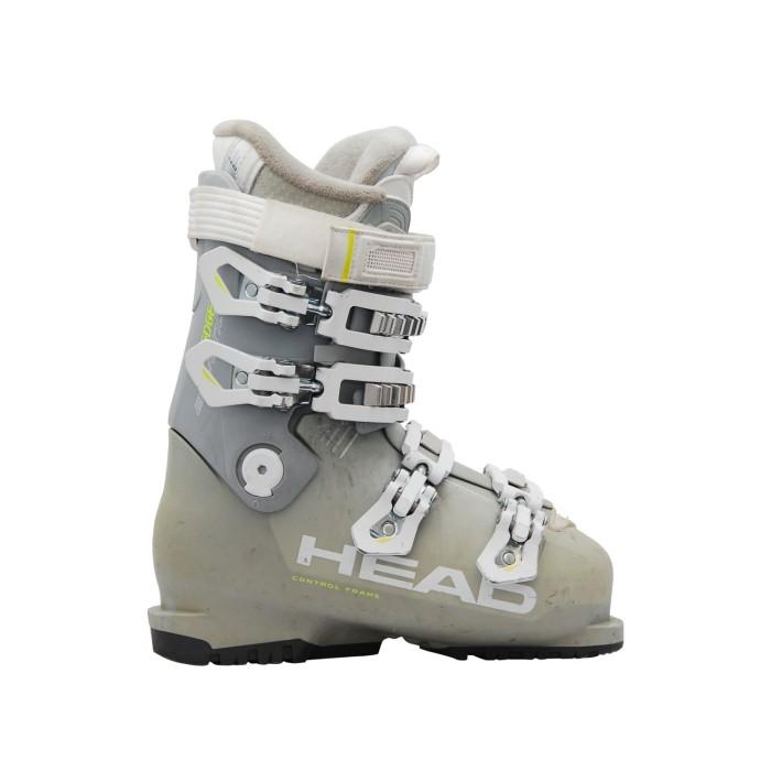 Cabeza usada bota de esquí advant edge 75 gris