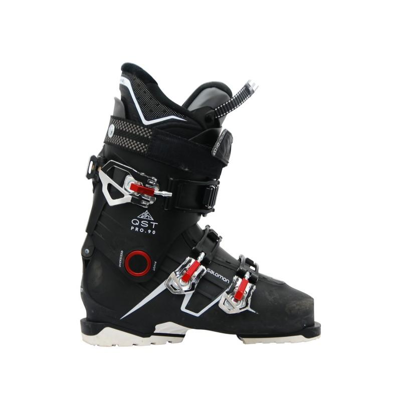 Chaussures de ski occasion Salomon Qst pro 90 noir - Qualité A