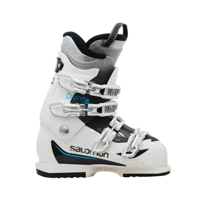 Gebrauchte Skischuh Salomon Divine R60 weiß