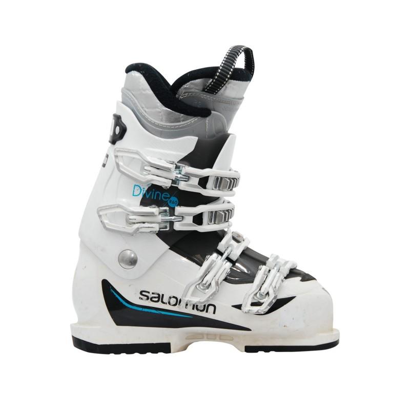Chaussure de ski occasion Salomon Divine R60 blanc - Qualité A
