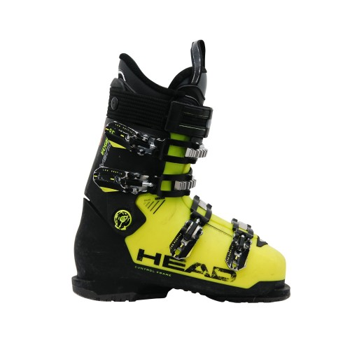 Skischuh gebraucht Head advant edge 85 schwarz gelb