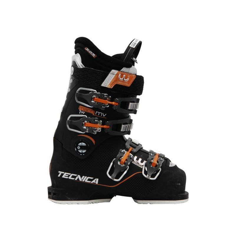 Chaussure de Ski Occasion Tecnica Mach 1 mv w noir - Qualité A