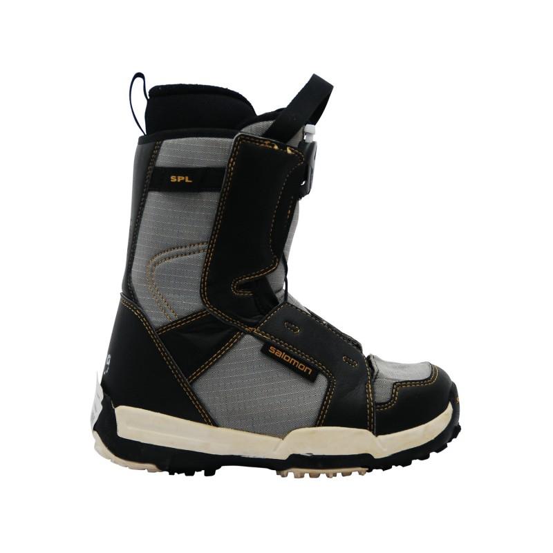 Boots occasion junior Salomon Talapus gris - Qualité A