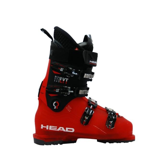 Cabeza Nexo LYT 110 bota de esquí usada en rojo negro