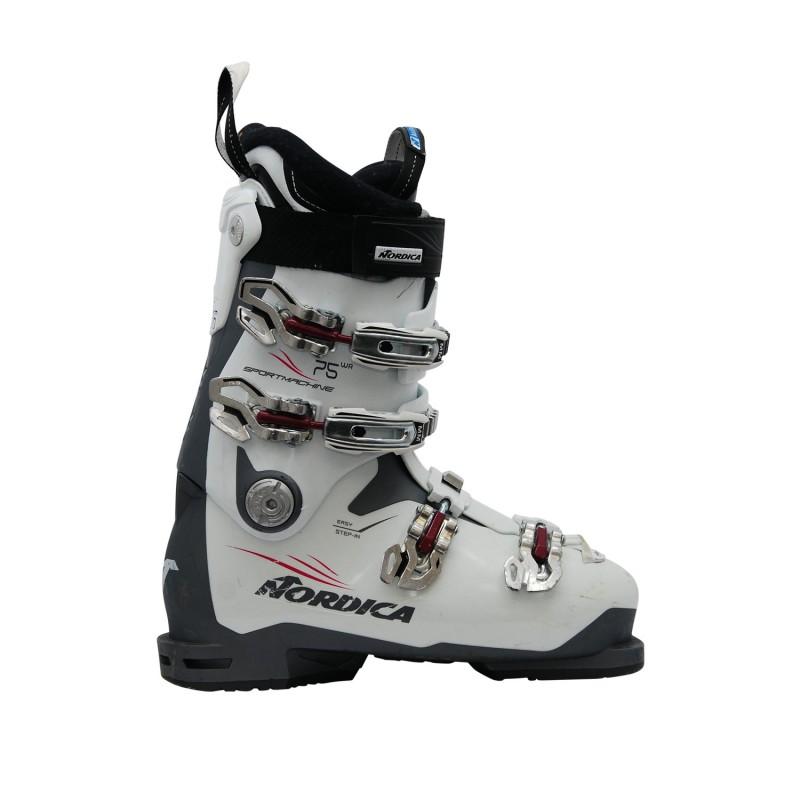 Chaussure de Ski Occasion Nordica sportmachine 75 wr blanc - Qualité A