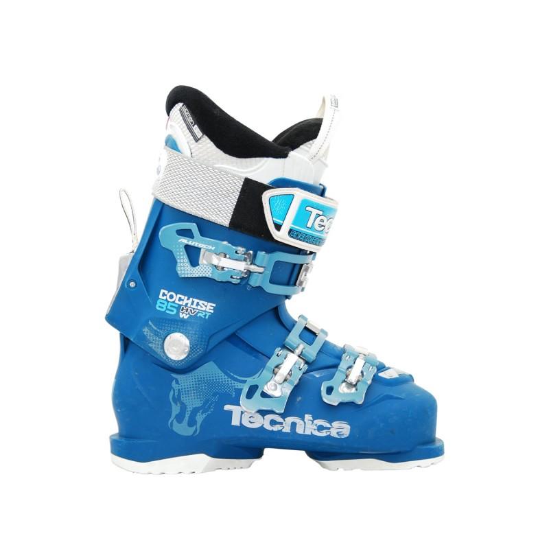 Chaussure de ski occasion Tecnica Cochise 85 HV RT w bleu - Qualité A