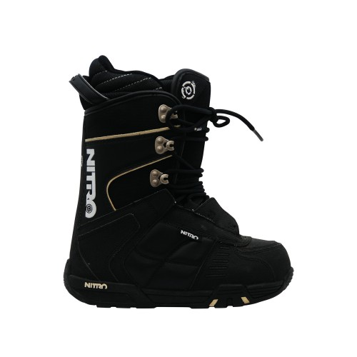 Boots de snowboard occasion Nitro rental noir