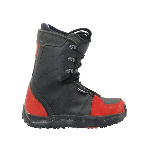 Boots occasion Rossignol noir rouge