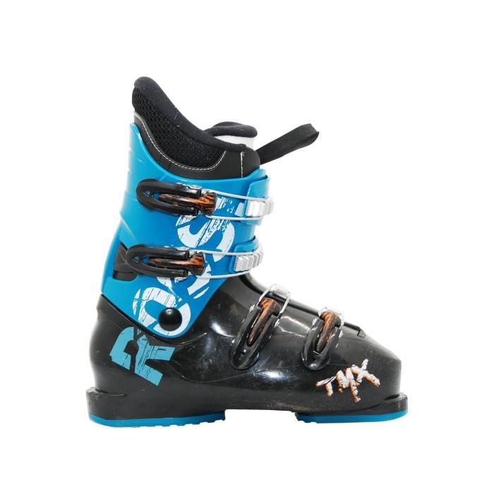 Blue black Rossignol TMX Junior Used Ski Shoe