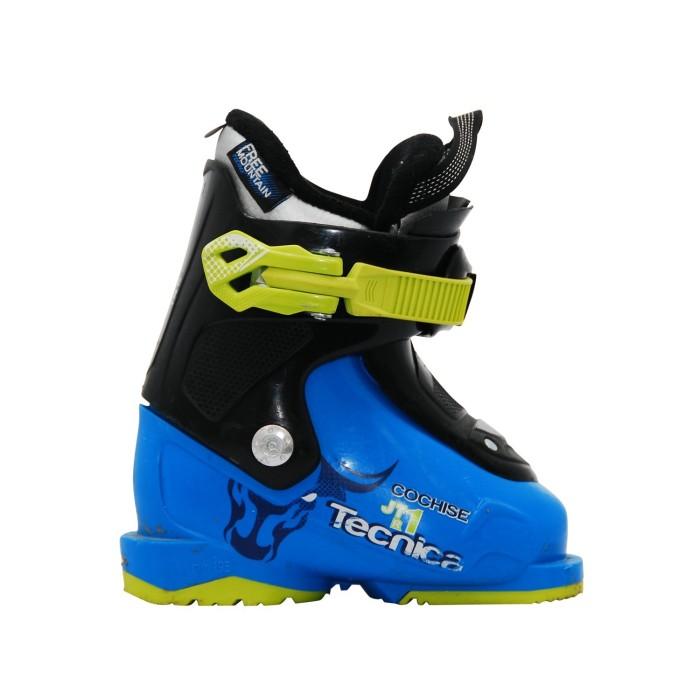 Gebrauchte Skischuh Junior Tecnica Cochise JTR blau