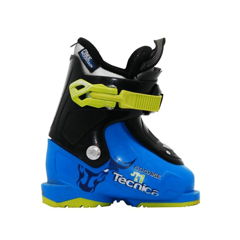 Chaussure de ski occasion Junior Tecnica Cochise JTR bleu - Qualité A