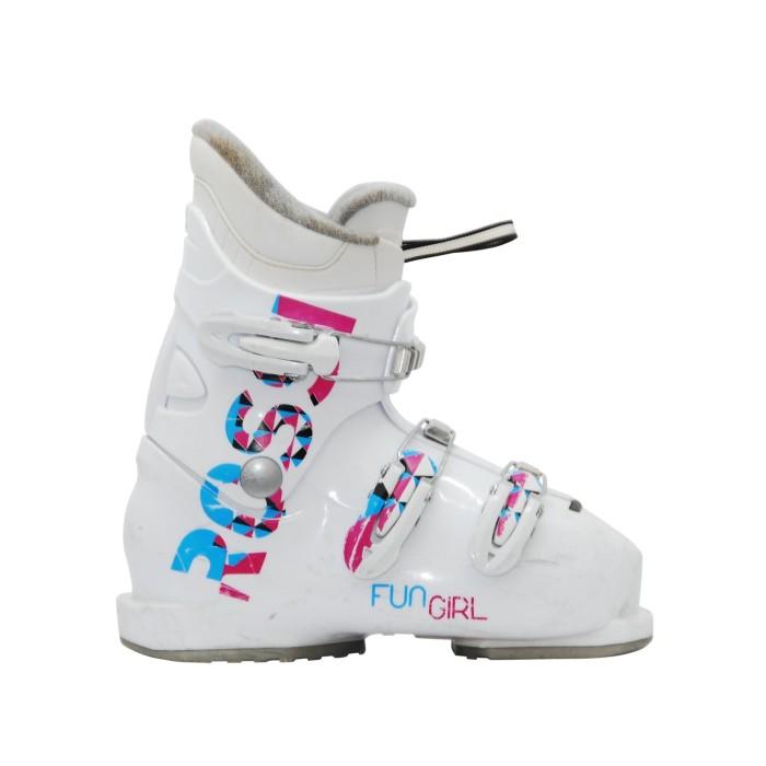Chaussure de ski occasion junior Rossignol fun girl 3/4