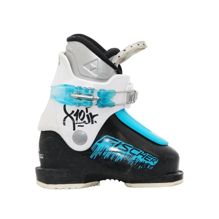 Zapato de esquiador junior Fischer X10/X20 JR blanco negro